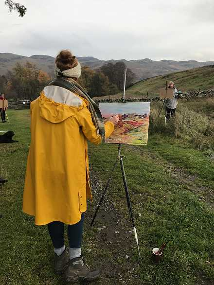 Wild Painting in Matterdale